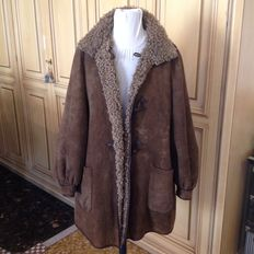 Montgomery double-sided fur coat