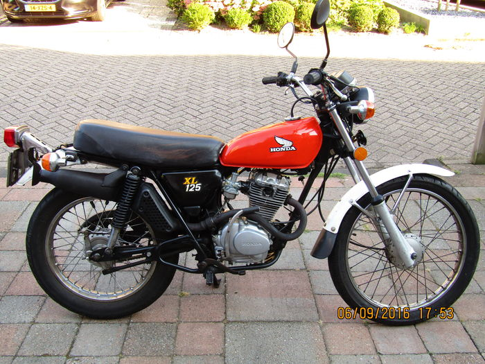 honda xl 125 1976 catawiki. Black Bedroom Furniture Sets. Home Design Ideas