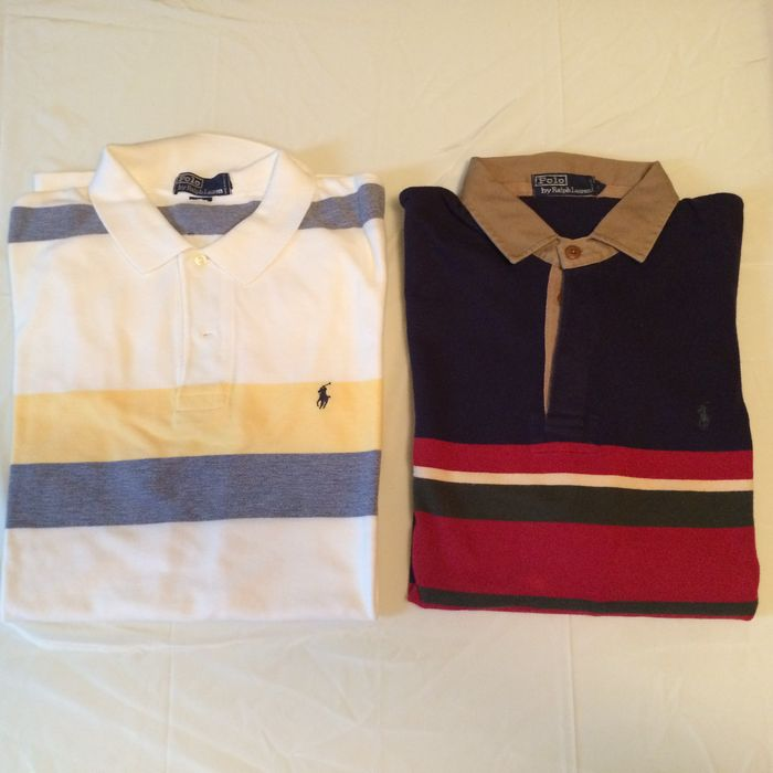 4ca6763412a9 Lot  Polo by Ralph Lauren – 2 Polo s - Catawiki