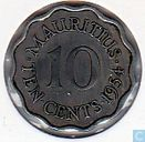 Maurice 10 cents 1954