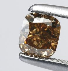 IGI Certified 1.14ct Natural Fancy Brown Diamond