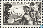 Postage Stamps - France [FRA] - Quinzaine Impériale