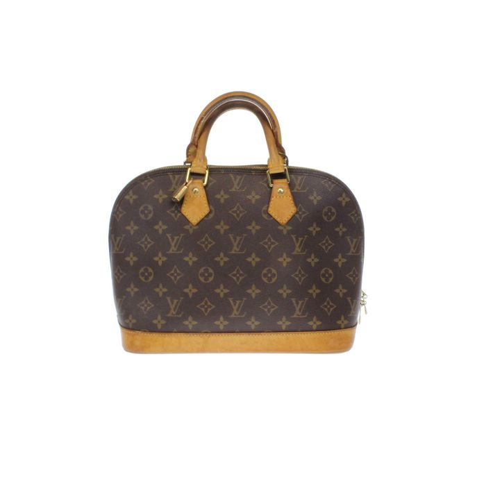 louis vuitton alma pm handtasche mit monogramm catawiki. Black Bedroom Furniture Sets. Home Design Ideas
