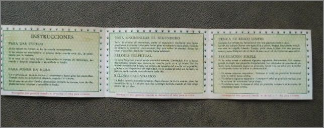 Calendario 1958.Rolex White Guarantee From 1958 For Collectors Catawiki