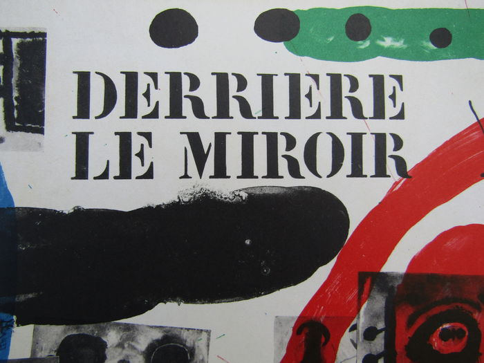 Joan mir derriere le miroir 151 152 catawiki for Miro derriere le miroir