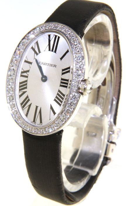 Cartier Baignoire Ladies Watch Reference Wb520008 Catawiki