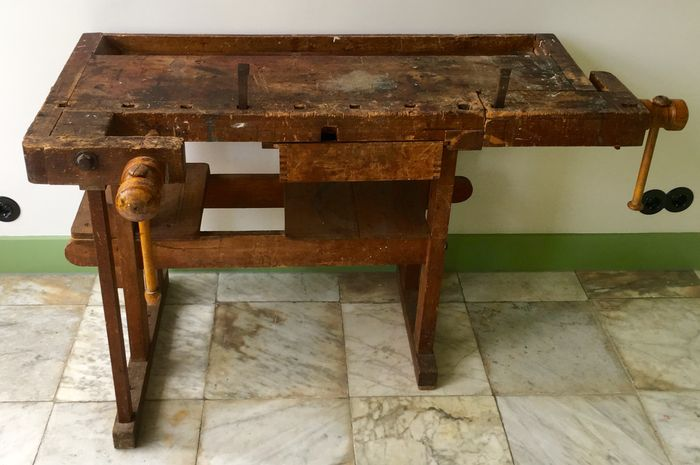 Excellent Decorative Workbench Small Size Good Condition Catawiki Onthecornerstone Fun Painted Chair Ideas Images Onthecornerstoneorg