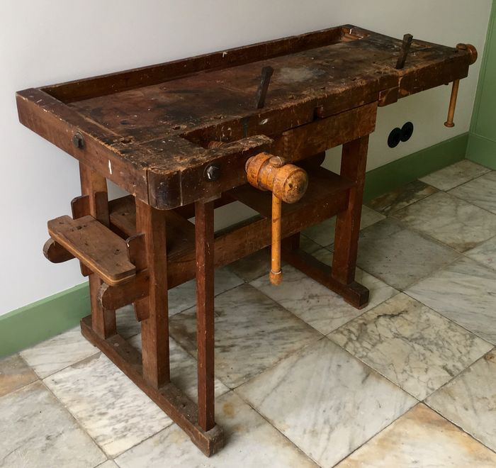 Surprising Decorative Workbench Small Size Good Condition Catawiki Onthecornerstone Fun Painted Chair Ideas Images Onthecornerstoneorg