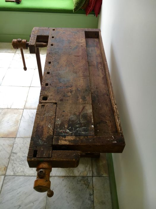 Prime Decorative Workbench Small Size Good Condition Catawiki Onthecornerstone Fun Painted Chair Ideas Images Onthecornerstoneorg