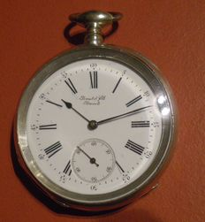 Perret et Fils, Brenets, pocket watch - 1900 era