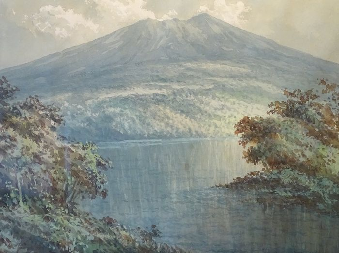2 x Mochtar Apin (1923-1994)  - Two landscapes