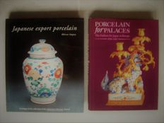 Lot of two books on Japanese (export) porcelain - 1990/2002.