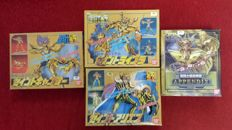 Knights of the Zodiac - model kits - Years 1987/2001/2007 - plastic