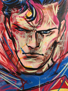 Dillon Boy - Superman - Graffiti Pop