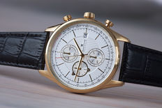 Executive Chronograph – men's wristwatch – in mint condition 01