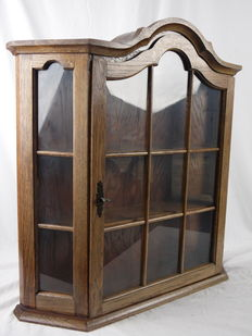 Extremely solid large display cabinet to hang on a wall