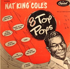 Nat King Cole 2x 10'' LP + 1x Earl Grant LP Orig. + Other Titles