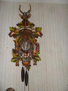 Cuckoo clock L – West-Germany – 1960s