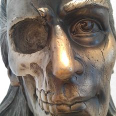 Life and death - head / bust with two views