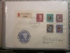 Zwitserland 1952/2004 - Verzameling FDC's