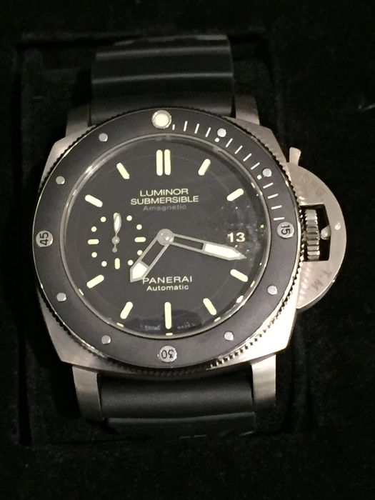 Panerai Luminor Submersible 1950 Amagnetic 3 Days. Reloj de pulsera para hombre.