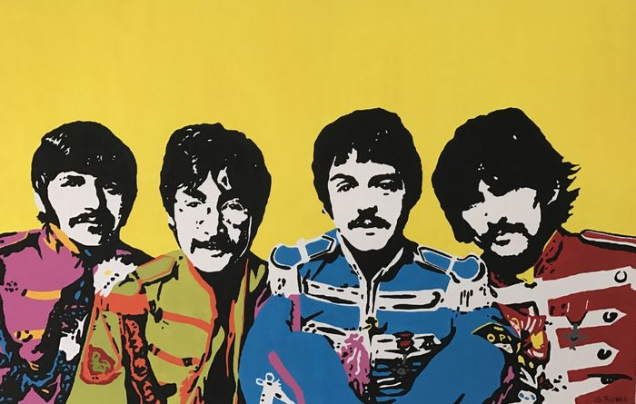 Gerke Rienks - The Beatles, Sgt. Pepper´s Lonely Hearts Club Band
