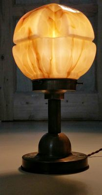 Art Deco/ Bauhaus bureau-/ dressoir lamp.
