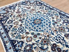 Nain - fine Persian oriental rug - approx. 126 x 83 cm - from € 1.00 - no reserve price - very good condition!