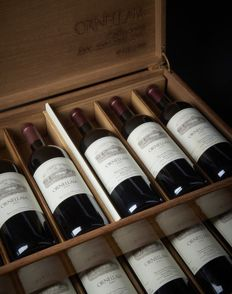 Ultima Verticale Ornellaia Bolghieri – 12 bottles in wine case, exclusive, impossible to find ( La no. 116 of 600 products)
