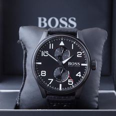 Hugo Boss Aero pilot – men's wristwatch – in perfect condition 30