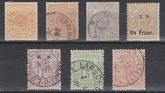 Luxembourg 1865/1889 - Selection of earlier issues