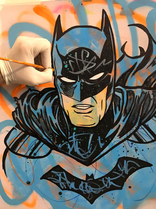 Dillon Boy - Batman - Graffiti Pop