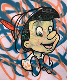 Dillon Boy - Pinocchio - Graffiti Pop
