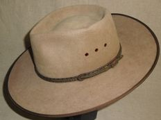 Original Akubra 'Cattleman' outdoor hat - second half of the 20th century