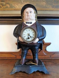 Cast iron - Bradley & Hubbard - Clock man - Late 1900s