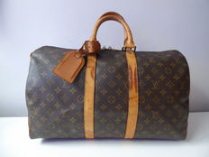 Vintage Louis Vuitton – Keepall 45 reistas