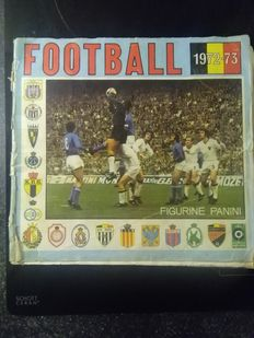 Panini - Football 1972/73 - Complete album.