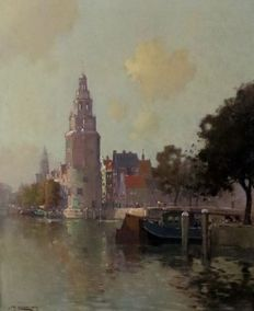 Jan Knikker Jr.  (1911 - 1990) - Amsterdam