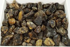 Natural Amber rough lot - 1kg (69)