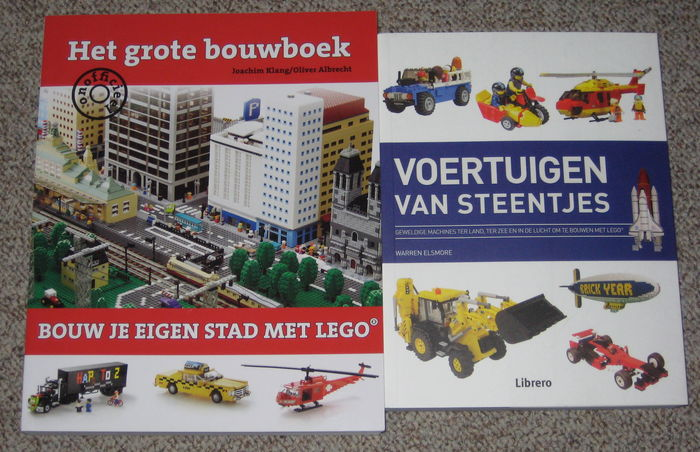 Assorted 2 Lego Instructions Books The Large Building Book