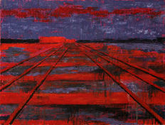 Darko Topalski - Railroad into the dusk