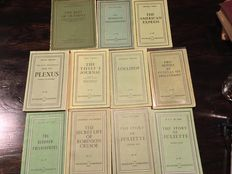 Olympia Press: Lot of 11  books from the Traveller's Companion series - 1954 / 1966