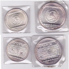 Mexico – 2 and 5 pesos (1.5 oz) in sealed blister pack – Silver