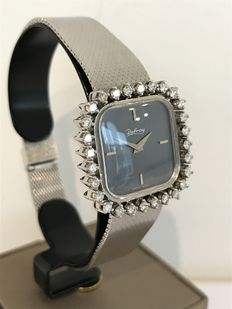 Delray - Exclusive white gold women's watch with brilliants - Circa 1990