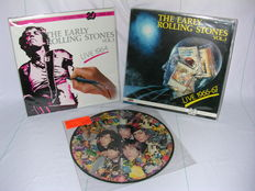 Rare Rolling Stones Records. Early Rolling Stones Vol.1 and Vol.3 on Coloured Vinyl and Precious Stones Picture disc in his orignal sleeve.