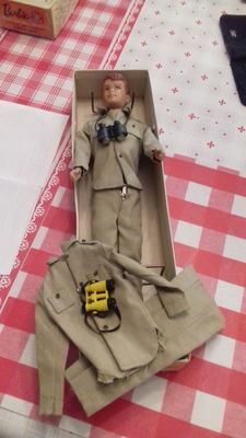 Allan doll by Mattel with an additional outfit.