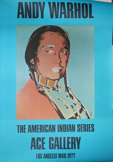 Andy Warhol - American Indian, ACE Gallery