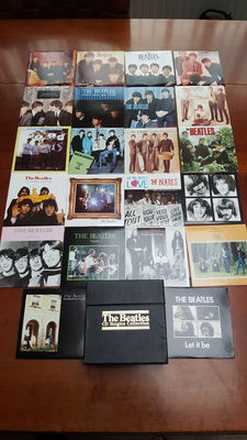 The Beatles  : The Beatles CD singles collection