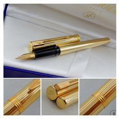Rare Vintage Waterman Cotele Cotele Fountain Pen | Gold Plated | Fine nib | New Old Stock - Mint Condition