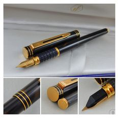 Waterman Exclusive Fountain Pen | Tortoise Shell Lacquer GT | 18K IDEAL Fine Nib | New Old Stock - Mint Condition